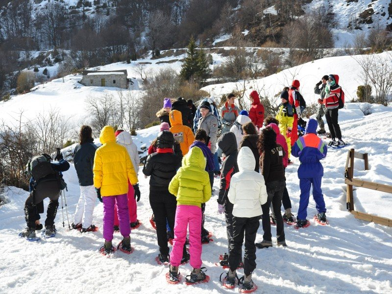 Le scuole medie di Carpineti a Monte Orsaro